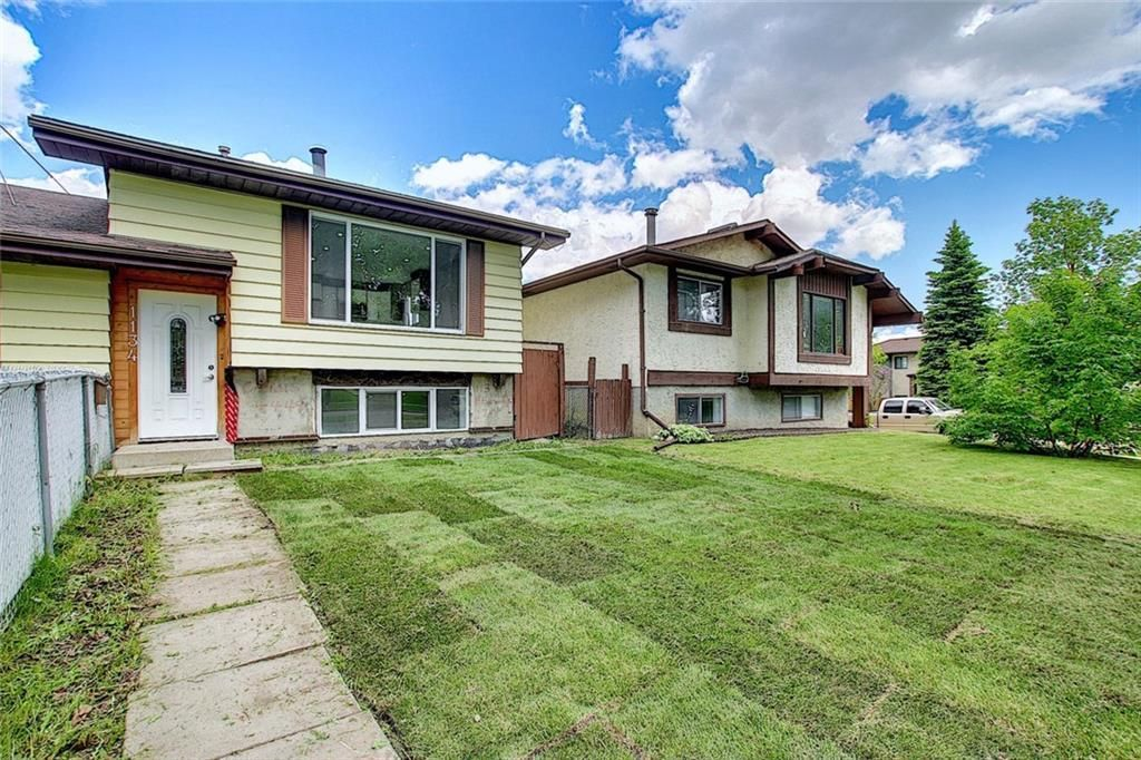 Photo 1: Photos: 1134 BERKLEY Drive NW in Calgary: Beddington Heights Semi Detached for sale : MLS®# C4303281