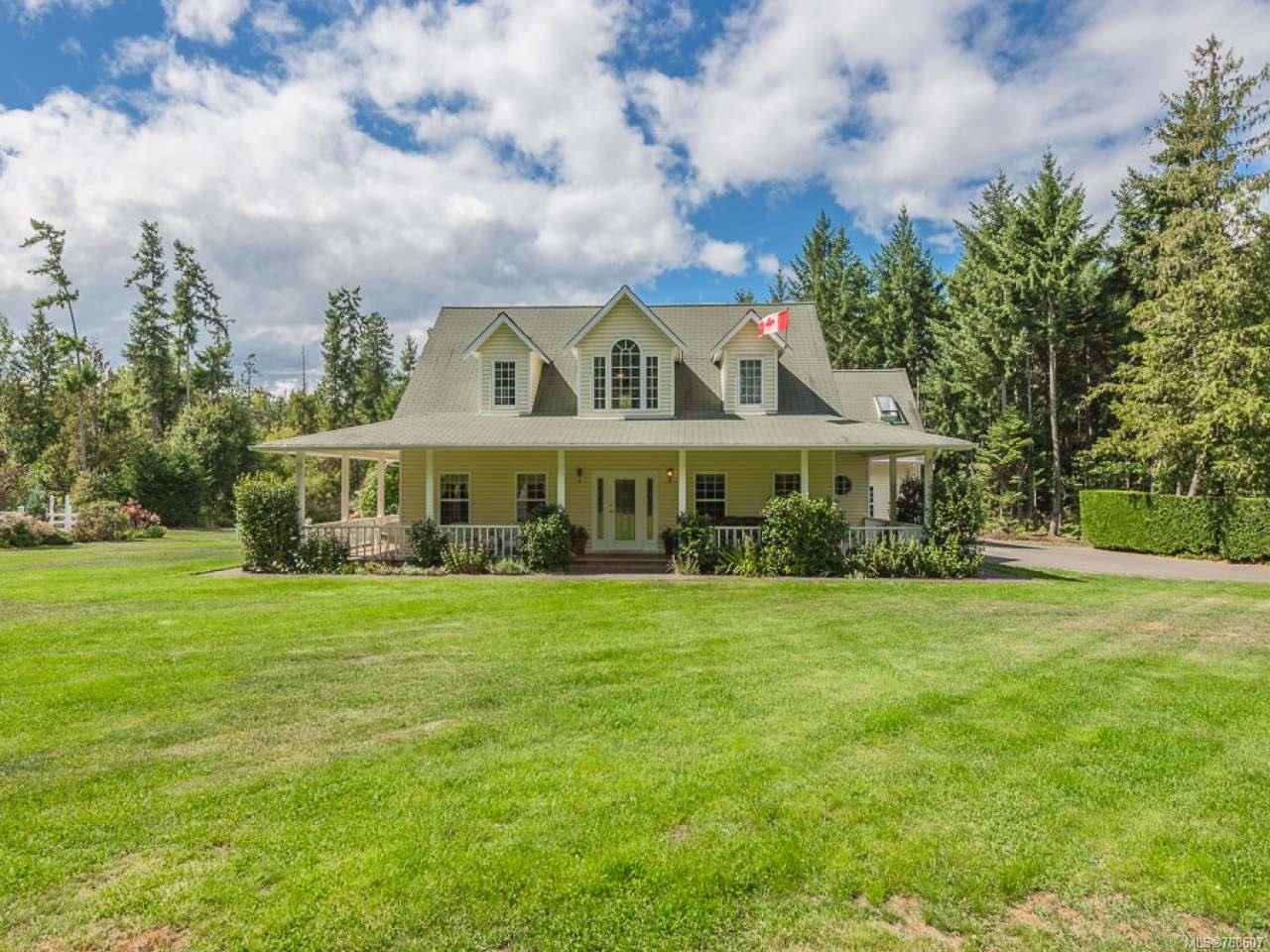 Main Photo: 1285 LEFFLER ROAD in ERRINGTON: PQ Errington/Coombs/Hilliers House for sale (Parksville/Qualicum)  : MLS®# 768607