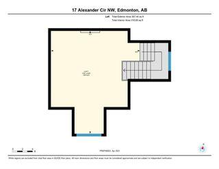 Photo 25: 17 ALEXANDER Circle in Edmonton: Zone 11 House for sale : MLS®# E4241665