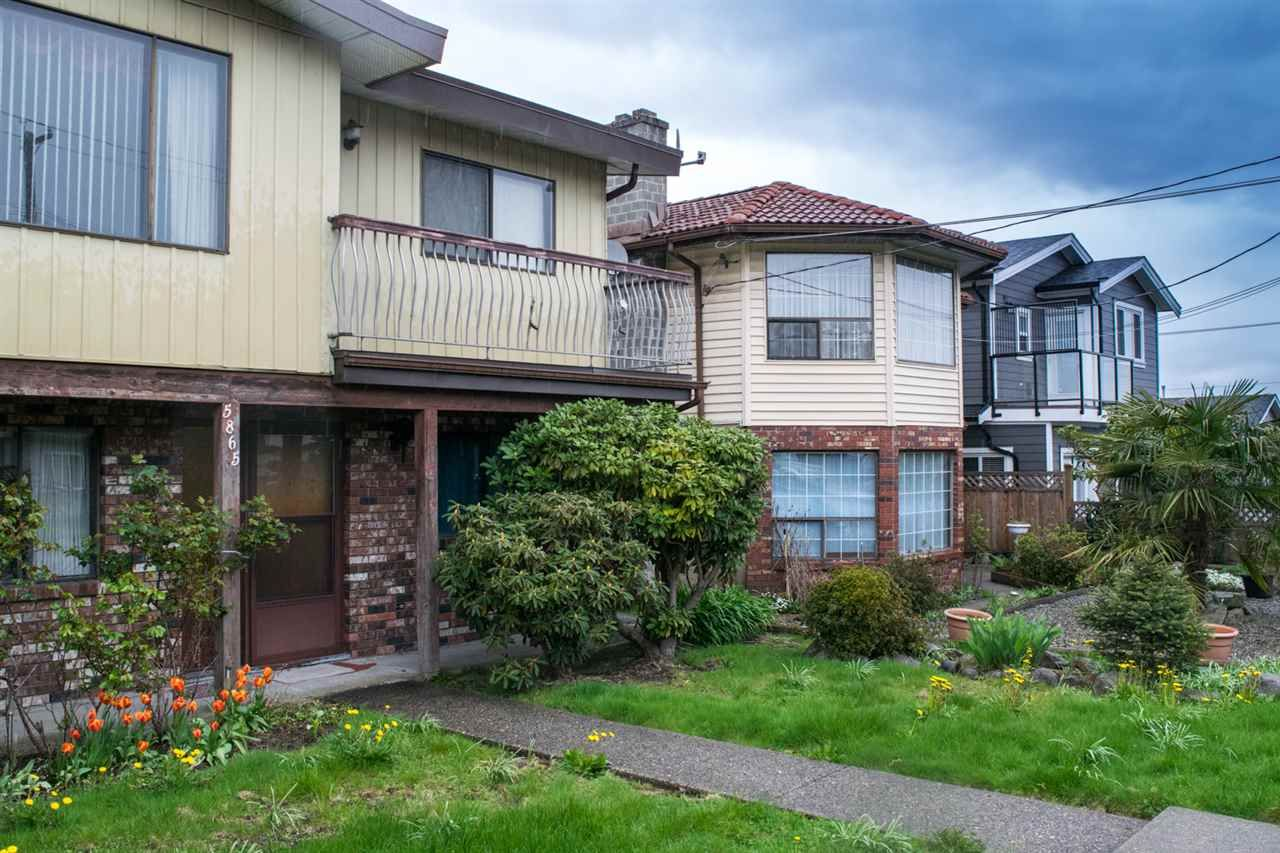 Main Photo: 5865 SPROTT Street in Burnaby: Central BN 1/2 Duplex for sale (Burnaby North)  : MLS®# R2160305