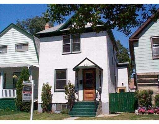 Main Photo: 205 HORACE Street in WINNIPEG: St Boniface Single Family Detached for sale (South East Winnipeg)  : MLS®# 2308606