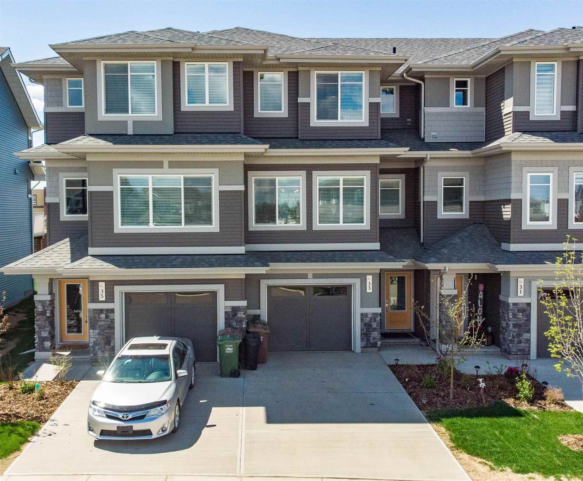 Main Photo: 33 JOYAL Way: St. Albert Attached Home for sale : MLS®# E4247048