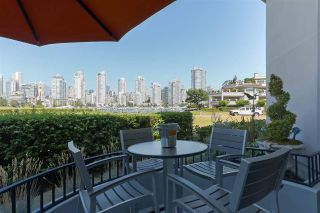 "Photo 1: 119 1869 SPYGLASS Place in Vancouver: False Creek Condo for sale in ""THE REGATTA"" (Vancouver West)  : MLS®# R2396158"
