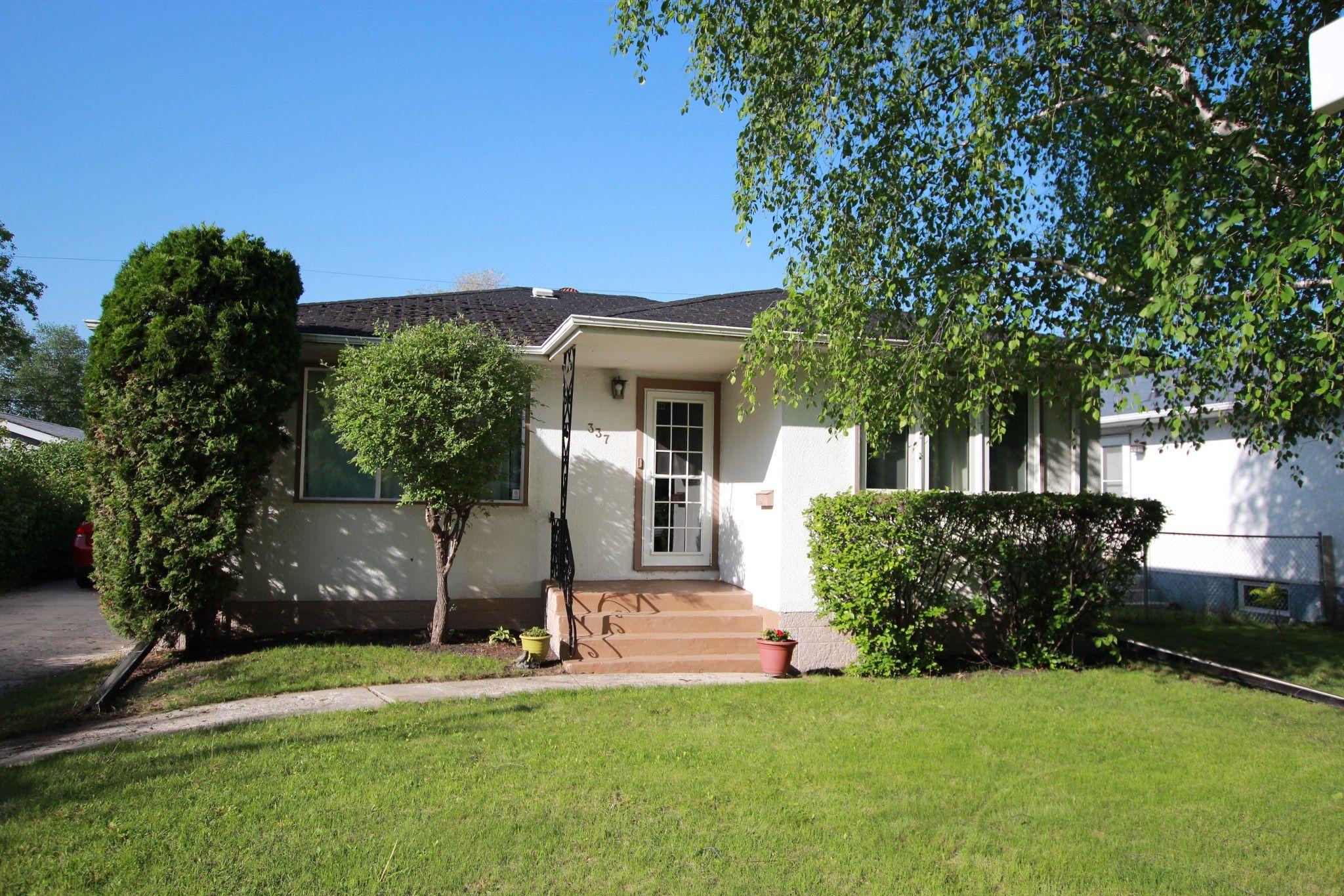 Main Photo: 337 Devon Avenue in Winnipeg: North Kildonan House for sale (3F)  : MLS®# 1614702