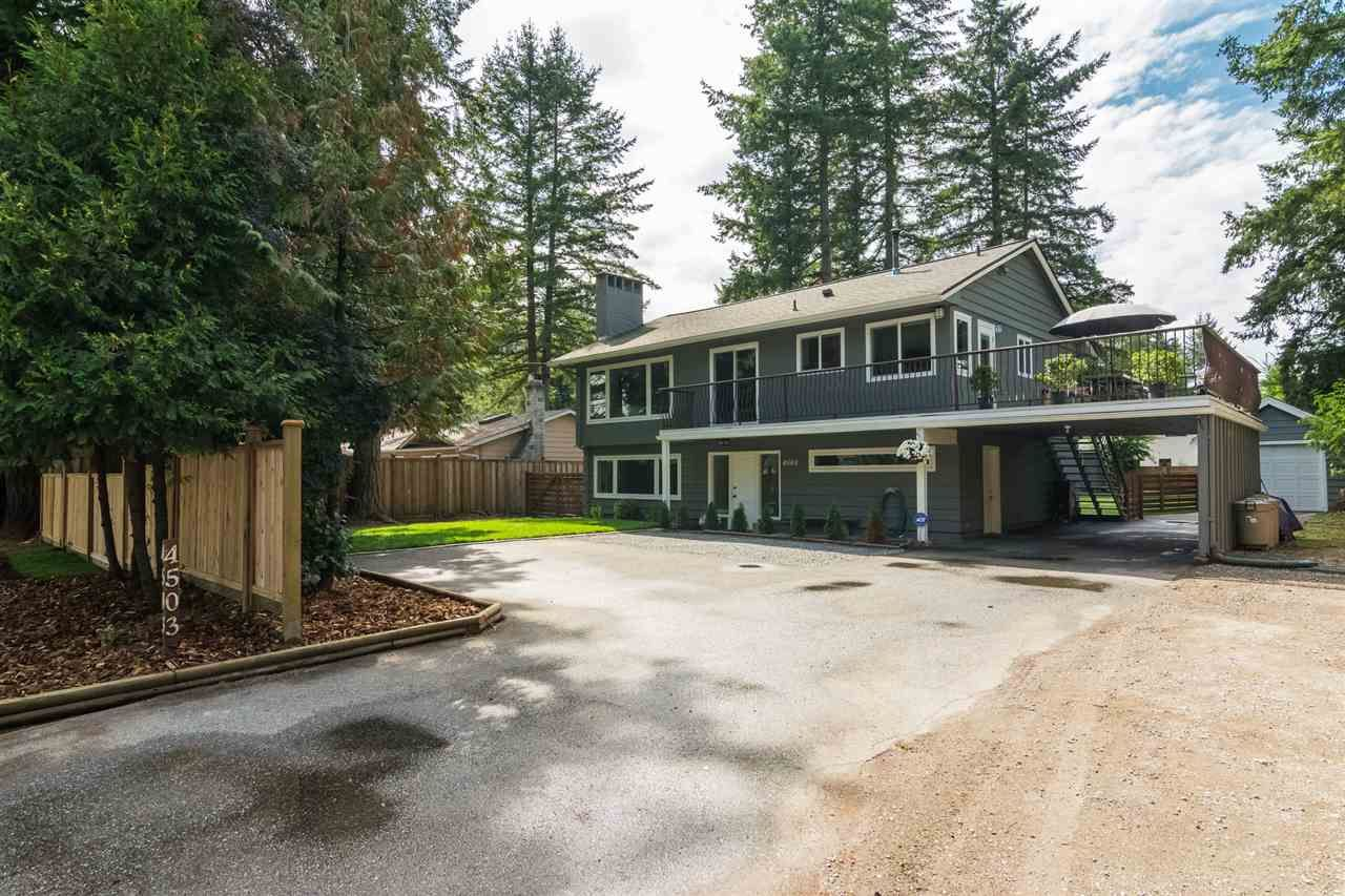 Main Photo: 4503 200 St in Langley: Langley City House for sale : MLS®# R2301493