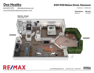 Photo 24: 101 1928 NELSON STREET in Vancouver: West End VW Condo for sale (Vancouver West)  : MLS®# R2484653