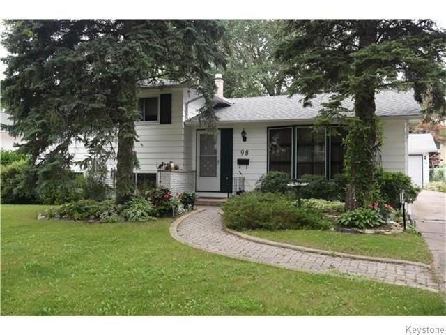 Main Photo: 98 Rutgers Bay in Winnipeg: Fort Richmond Residential for sale (1K)  : MLS®# 1628445