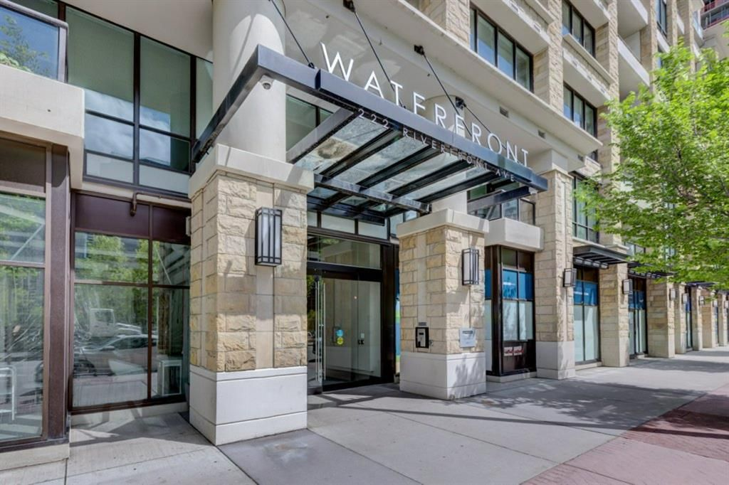 Main Photo: 1522 222 Riverfront Avenue SW in Calgary: Chinatown Apartment for sale : MLS®# A1079783