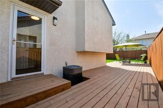 Photo 18: 107 Brentlawn Boulevard in Winnipeg: Richmond West Residential for sale (1S)  : MLS®# 1823314