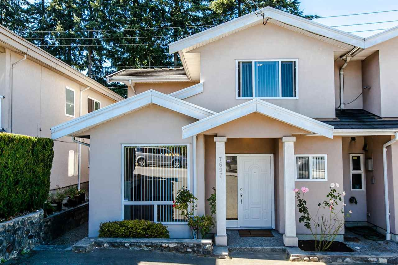 Main Photo: 7697 IMPERIAL Street in Burnaby: Buckingham Heights 1/2 Duplex for sale (Burnaby South)  : MLS®# R2096647