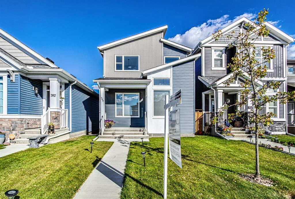 Main Photo: 746 Belmont Drive SW in Calgary: Belmont Detached for sale : MLS®# A1147275