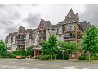 """Photo 1: 218 17769 57 Avenue in Surrey: Cloverdale BC Condo for sale in """"Clover Downs Estates"""" (Cloverdale)  : MLS®# R2177981"""