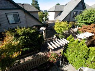 "Photo 10: 16 222 E 5TH Street in North Vancouver: Lower Lonsdale Townhouse for sale in ""Burham Court"" : MLS®# V971412"