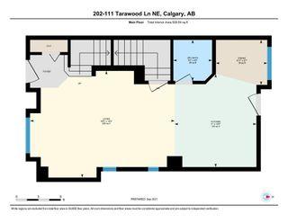 Photo 34: 202 111 Tarawood Lane NE in Calgary: Taradale Row/Townhouse for sale : MLS®# A1148846