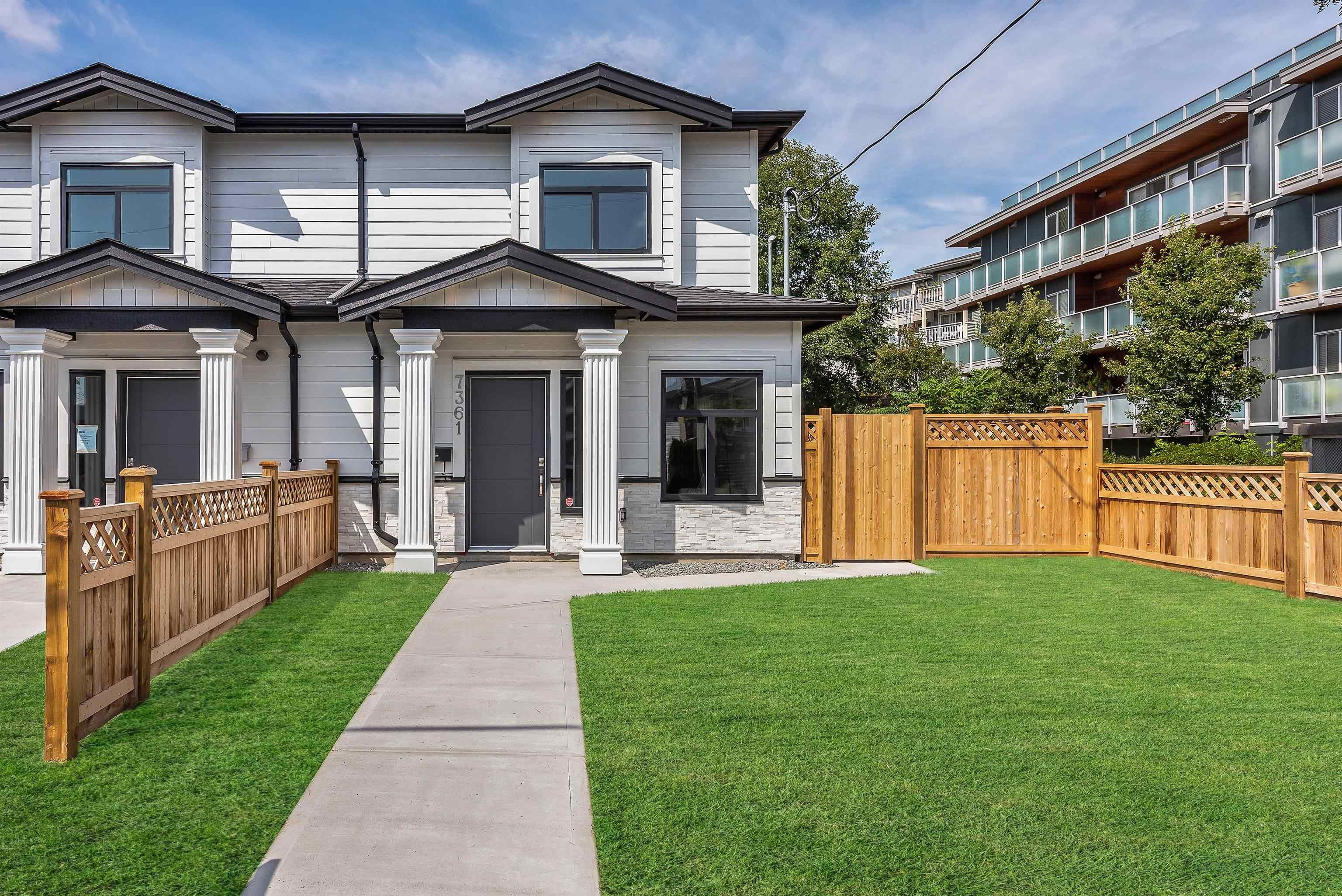 Main Photo: 7361 14TH Avenue in Burnaby: East Burnaby 1/2 Duplex for sale (Burnaby East)  : MLS®# R2611913