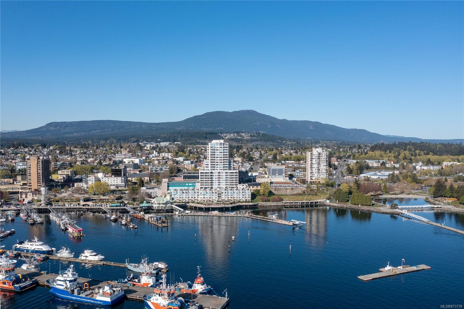 Main Photo: 1101 38 Front St in : Na Old City Condo for sale (Nanaimo)  : MLS®# 873738