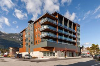 """Photo 1: 404 38013 THIRD Avenue in Squamish: Downtown SQ Condo for sale in """"THE LAUREN"""" : MLS®# R2466144"""