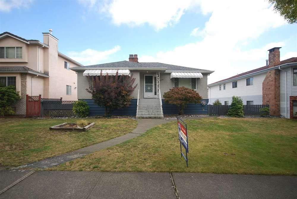 Main Photo: 6780 SHERBROOKE STREET: South Vancouver Home for sale ()  : MLS®# R2106379