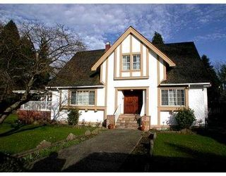 Photo 1: 5308 MARGUERITE ST in Vancouver: Shaughnessy House for sale (Vancouver West)  : MLS®# V543196