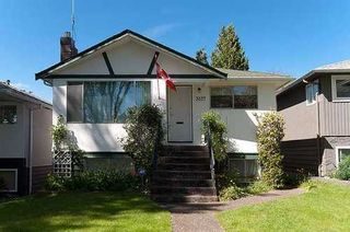 Photo 1: 3857 24TH Ave W in Vancouver West: Dunbar Home for sale ()  : MLS®# V950596