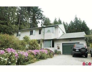 Main Photo: 12546 24TH Avenue in Surrey: Crescent Bch Ocean Pk. House for sale (South Surrey White Rock)  : MLS®# F1005295