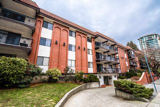 """Photo 1: 211 707 HAMILTON Street in New Westminster: Uptown NW Condo for sale in """"CASA DIANN"""" : MLS®# R2345218"""