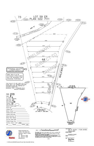 Photo 14: 96 PINNACLE Crest: Rural Sturgeon County Rural Land/Vacant Lot for sale : MLS®# E4246002