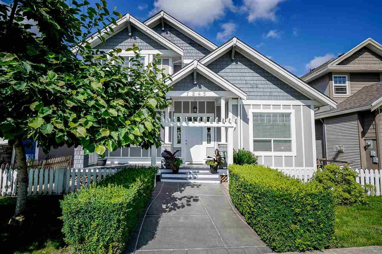 Main Photo: 7245 202A Street in Langley: Willoughby Heights House for sale : MLS®# R2476631