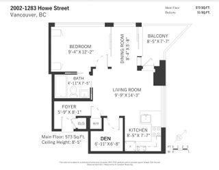 """Photo 20: 2002 1283 HOWE Street in Vancouver: Downtown VW Condo for sale in """"Tate Downtown"""" (Vancouver West)  : MLS®# R2562552"""