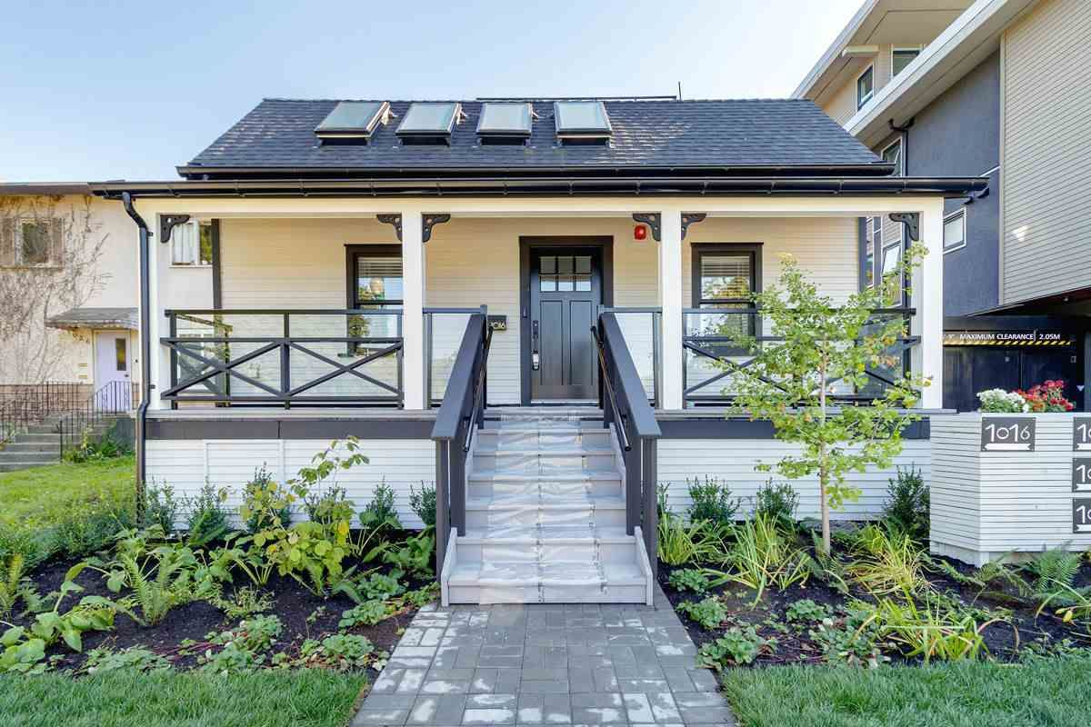 Main Photo: 1016 E 7TH AVENUE in Vancouver: Mount Pleasant VE Townhouse for sale (Vancouver East)  : MLS®# R2517210