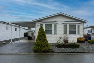 Photo 1: 1989 Valley Oak Dr in : Na University District Manufactured Home for sale (Nanaimo)  : MLS®# 864255