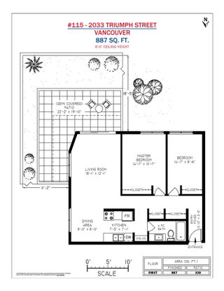 """Photo 16: 115 2033 TRIUMPH Street in Vancouver: Hastings Condo for sale in """"MACKENZIE HOUSE"""" (Vancouver East)  : MLS®# R2370575"""