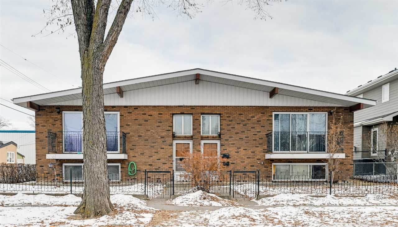 Main Photo: 9943 9939 77 Street in Edmonton: Zone 19 House Fourplex for sale : MLS®# E4225000