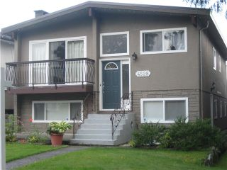 """Main Photo: 4528 FRANCES Street in Burnaby: Capitol Hill BN House for sale in """"S"""" (Burnaby North)  : MLS®# V1067655"""