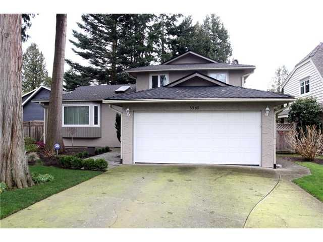 """Main Photo: 5282 2ND Avenue in Tsawwassen: Pebble Hill House for sale in """"PEBBLE HILL"""" : MLS®# V876017"""