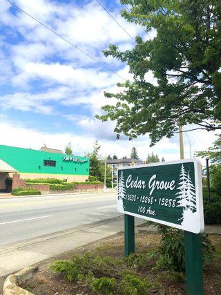 """Photo 2: 108 15288 100 Avenue in Surrey: Guildford Condo for sale in """"CEDAR GROVE"""" (North Surrey)  : MLS®# R2472138"""