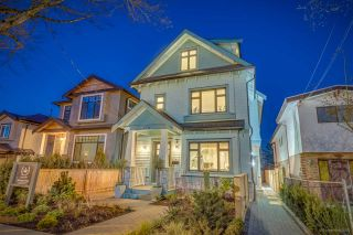 Photo 1: 4334 PRINCE EDWARD Street in Vancouver: Fraser VE 1/2 Duplex for sale (Vancouver East)  : MLS®# R2559491