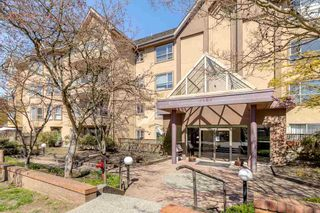 """Main Photo: 102 2285 PITT RIVER Road in Port Coquitlam: Central Pt Coquitlam Condo for sale in """"SHAUGHNESSY MANOR"""" : MLS®# R2566893"""