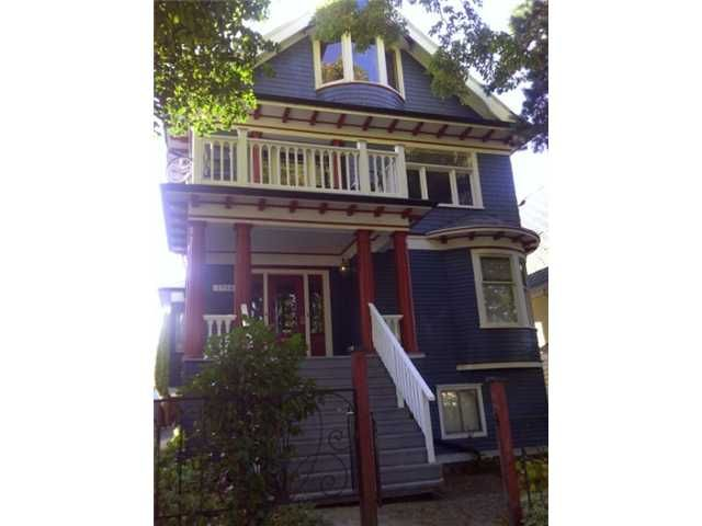 """Main Photo: 1758 VENABLES Street in Vancouver: Grandview VE House for sale in """"THE DRIVE"""" (Vancouver East)  : MLS®# V919120"""