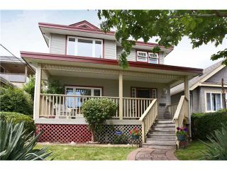 """Photo 1: 1431 7TH Avenue in New Westminster: West End NW House for sale in """"WEST END"""" : MLS®# V839697"""