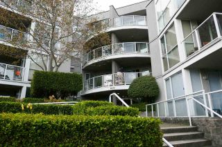 Photo 2: 203 8430 JELLICOE STREET in Vancouver: South Marine Condo for sale (Vancouver East)  : MLS®# R2572343