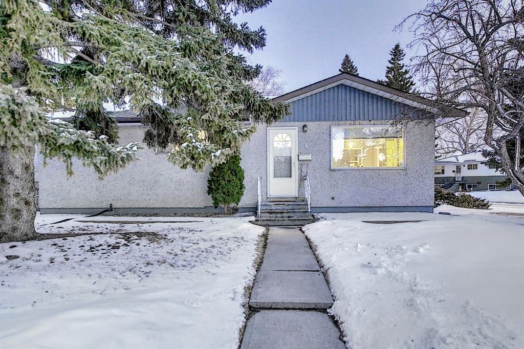 Main Photo: 4 Rossburn Crescent SW in Calgary: Rosscarrock Detached for sale : MLS®# A1073335