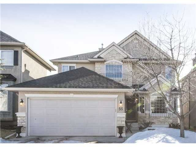 Main Photo: 55 EVERGREEN Heights SW in CALGARY: Shawnee Slps_Evergreen Est Residential Detached Single Family for sale (Calgary)  : MLS®# C3604460