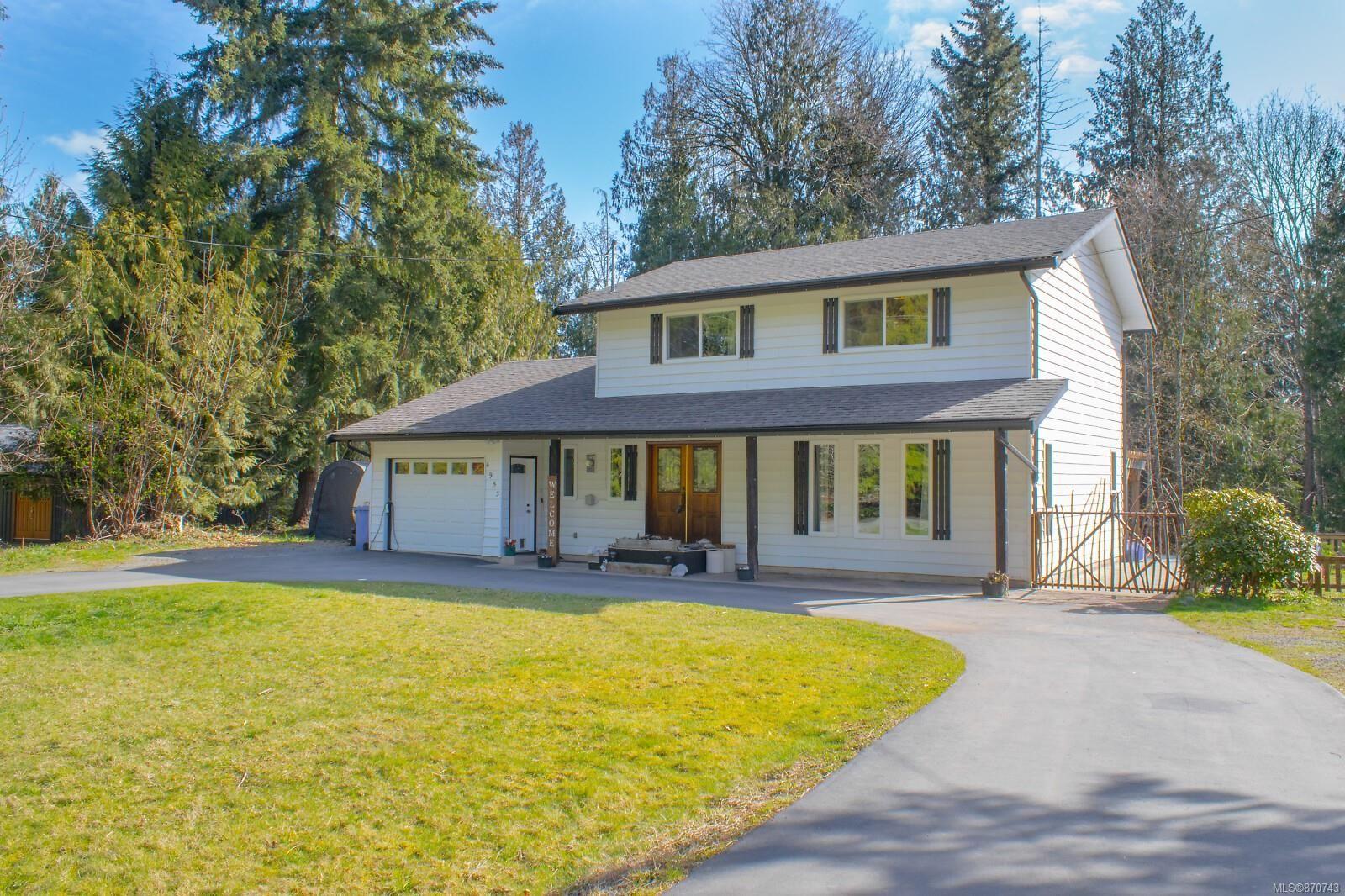Main Photo: 4953 Homestead Way in : Na Cedar House for sale (Nanaimo)  : MLS®# 870743