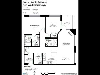 """Photo 33: 2003 612 SIXTH Street in New Westminster: Uptown NW Condo for sale in """"WOODWARD"""" : MLS®# R2472941"""