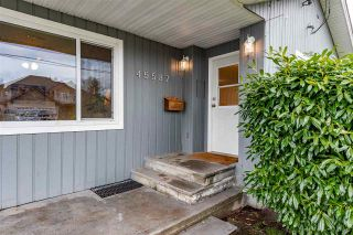 Photo 3: 45587 REECE Avenue in Chilliwack: Chilliwack N Yale-Well House for sale : MLS®# R2543275