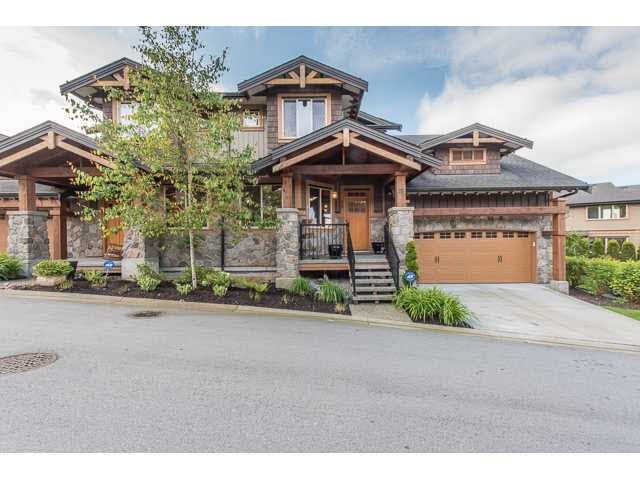 """Photo 1: Photos: 75 24185 106B Avenue in Maple Ridge: Albion Townhouse for sale in """"TRAILS EDGE"""" : MLS®# V1121758"""