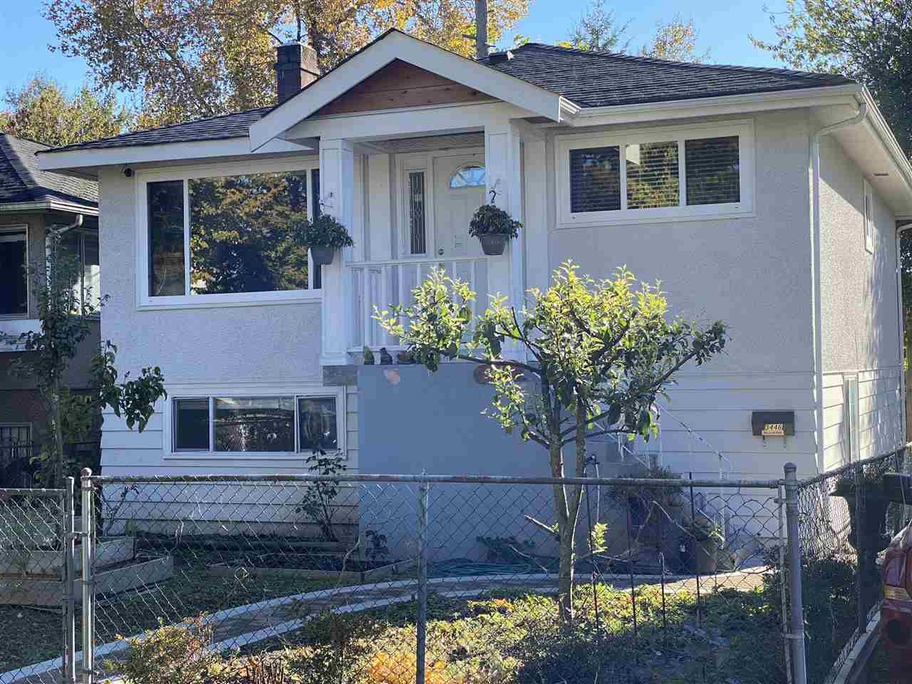Main Photo: 3446 WILLIAM Street in Vancouver: Renfrew VE House for sale (Vancouver East)  : MLS®# R2512996