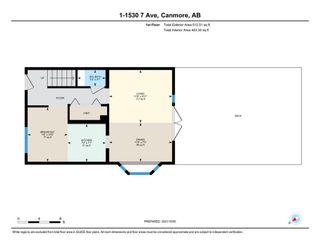 Photo 27: 1 1530 7 Avenue: Canmore Row/Townhouse for sale : MLS®# A1151900