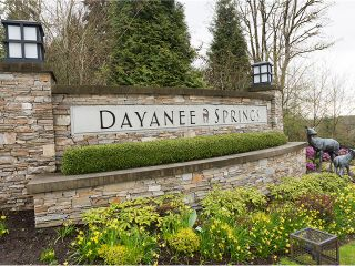 """Photo 2: 184 3105 DAYANEE SPRINGS Boulevard in Coquitlam: Westwood Plateau Townhouse for sale in """"DAYANEE SPRIGS"""" : MLS®# V1057307"""
